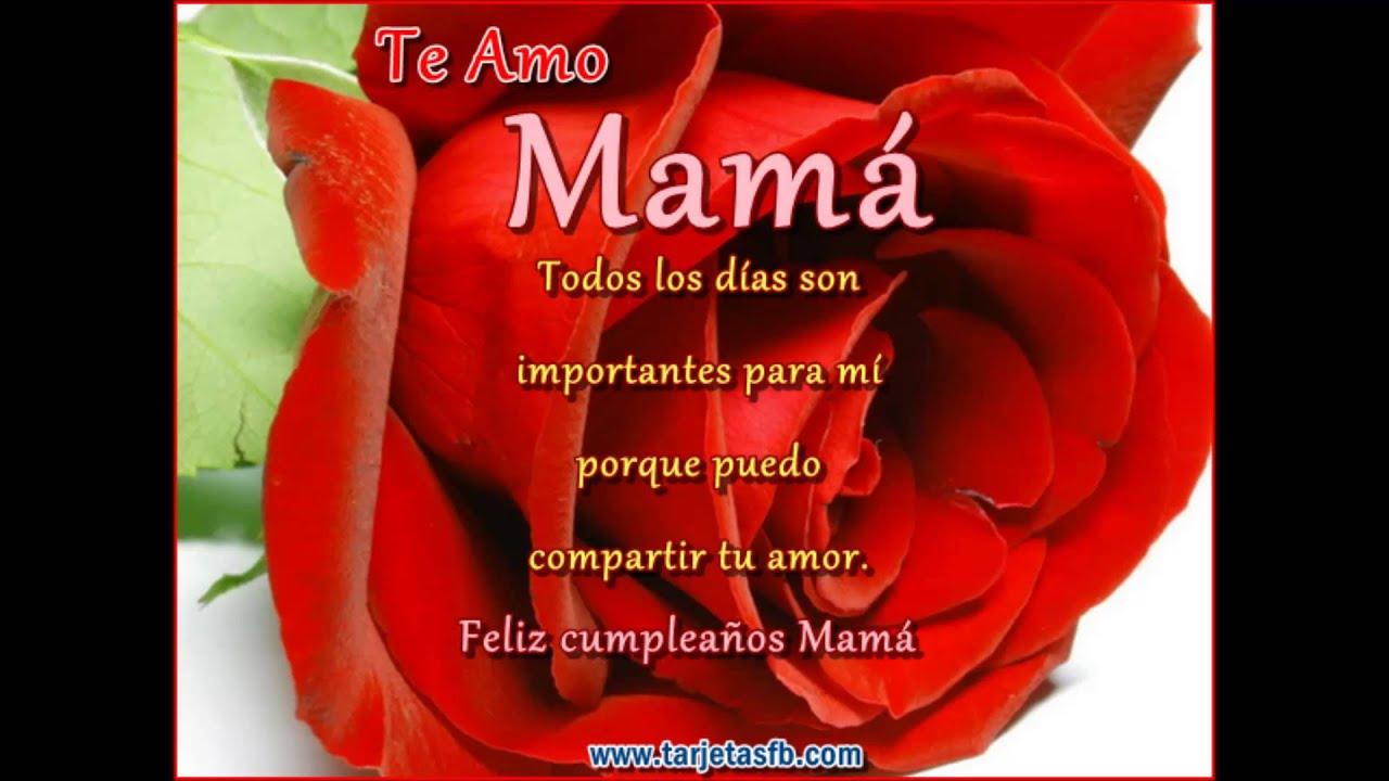 Feliz Cumpleanos Querida Madre Feliz Cumpleaños Madre Querida