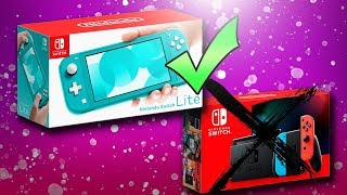The Switch Lite is a Better Buy than the NEW Nintendo Switch!