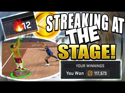 12 GAME WINNING STREAK AT THE STAGE!! ONE OF THE BEST DUO IN 2K HISTORY! NBA2K17 MY PARK GAME PLAY!