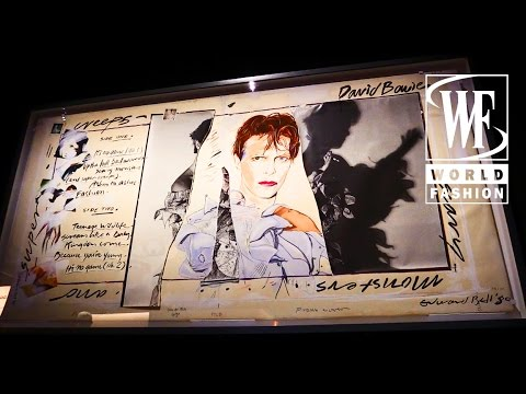 «David Bowie Is» Exhibition Paris