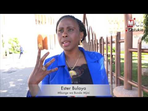 Kamera ya MCL Digital na Mbunge Ester Bulaya