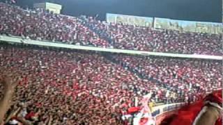 جماهير الأهلي بعد هدف أحمد فتحي في الترجي