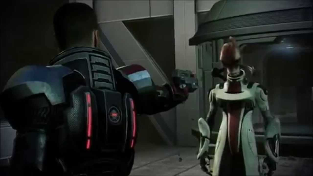 Mass effect 3 mordin death
