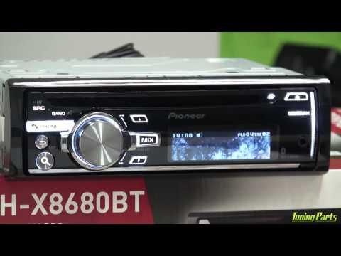 Pioneer DEH-X8680BT - Tutorial Completo do CD Player X8680 (Golfinho)