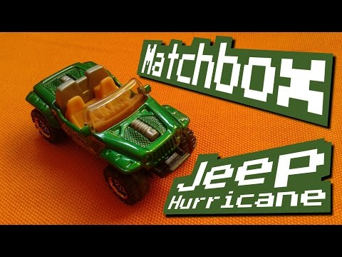 MotionRide - Hurricane [Chiptune]... with Matchbox Jeep Hurricane Stop Motion!