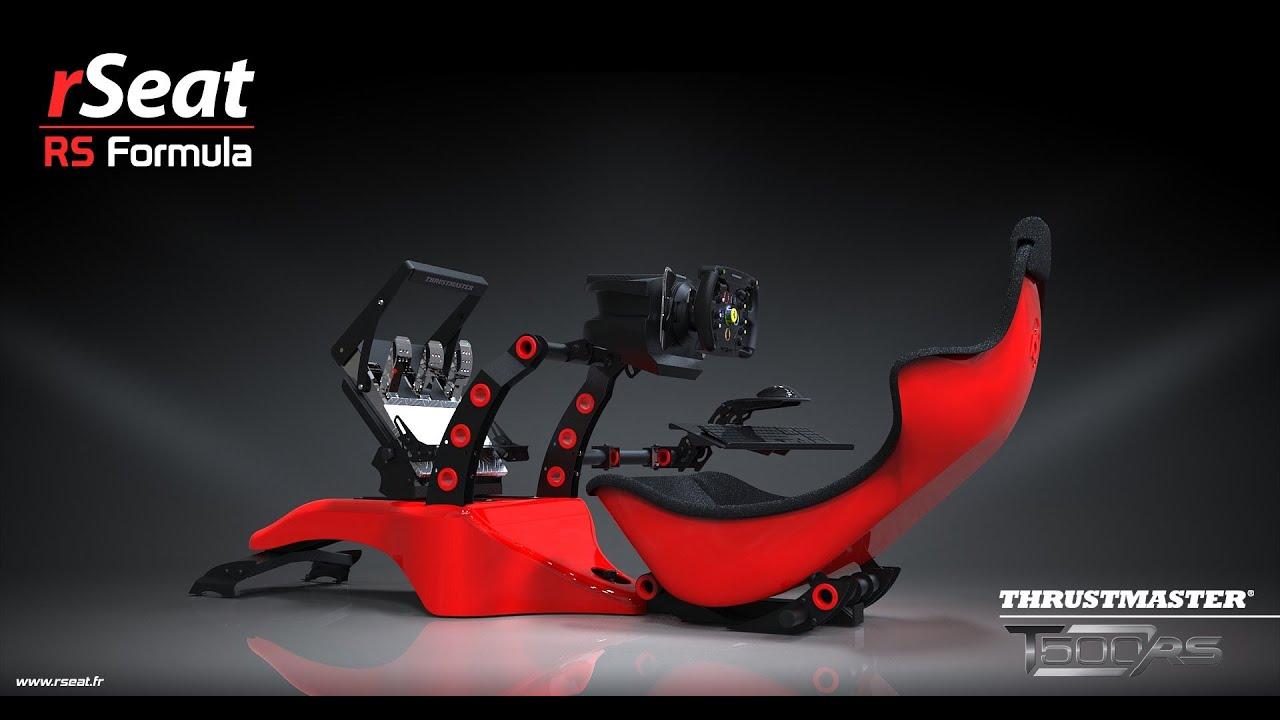 neue rseat rs formula rennsitz kompatibel mit fanatec thrustmaster logitech. Black Bedroom Furniture Sets. Home Design Ideas