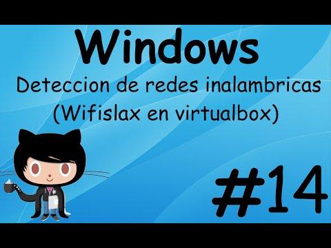 Wifislax en virtualbox (Deteccion de redes inalambricas)