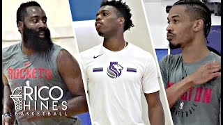 James Harden, Buddy Hield, Gerald Green, Jordan Bell + More! at Rico Hines private runs