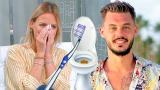 """Virginie (La Villa LBDC): """" Steven nettoyait les chiottes avec ma brosse à dent ! """""""