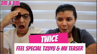 TWICE 'Feel Special' TEASER TZUYU & MV TEASER REACTION!!!