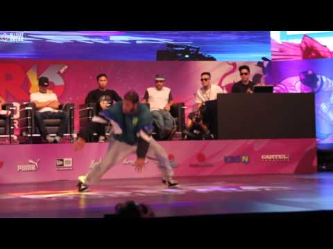 WING v GRAVITY / Quarter Finals / R16 2014 Final Bboy 1 on 1