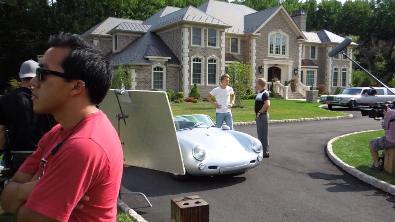550 Spyder On Set Quot The Carrie Diaries Quot Youtube