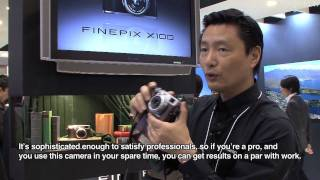 FinePix X100 with hybrid viewfinder #DigInfo