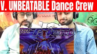 V.Unbeatable Dance Crew From India Soars, Makes You Emotional - America's Got Talent 2019 | REACTION