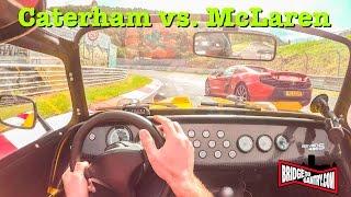 Caterham 485S & McLaren 650S on the Nürburgring Nordschleife