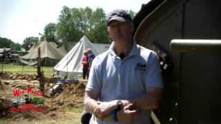 WW1 Tank - Interview at War and Peace Show 2012