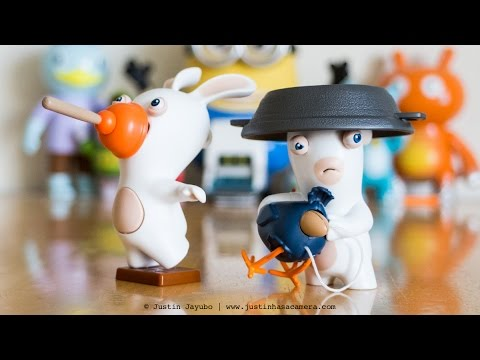 Rabbids Invasion 2-Pack Sound and Action Figures Unboxing & Review