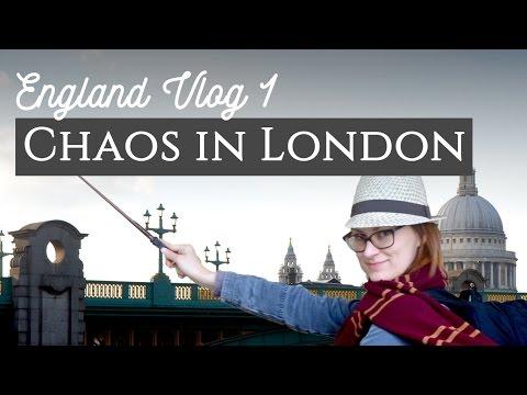 Chaos followed me to London's Globe | England Vlog 1