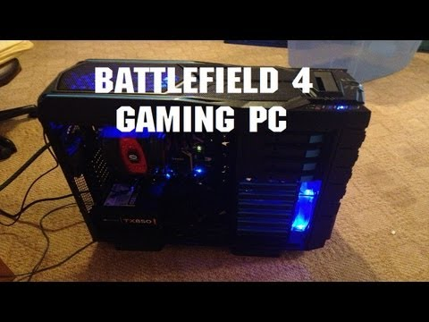 Battlefield 4 Ready Gaming PC 2013 Computer 1080p
