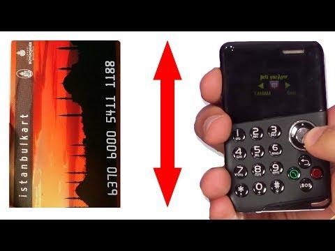 Dünyanın En Küçük Telefonlarını Test Ettik