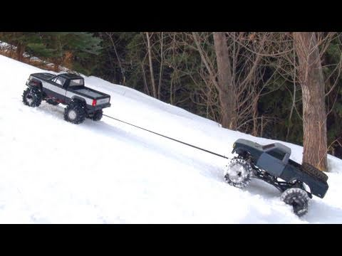 RC ADVENTURES – TUG & TOW – Scale 4×4 RC Trucks – Group Trail Crawl – PT 2