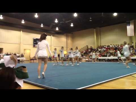 John Milledge Academy 2013 State Championship Cheerleading