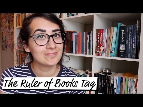Ruler of Books Tag!