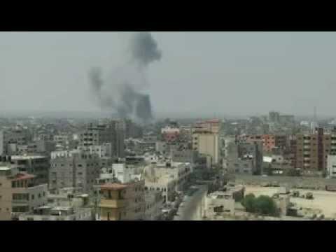 Raw Airstrike Shatters Fragile Calm in Gaza