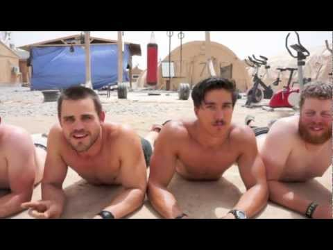 "Miami Dolphins Cheerleaders & U.S. Troops in Afghanistan sing ""Call Me Maybe"""