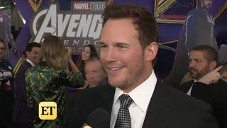 Chris Pratt interview at 'Avengers: Endgame' LA Premiere (April 22, 2019) — ETOnline