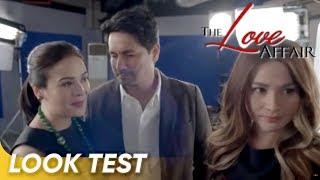 Richard Gomez, Dawn Zulueta, and Bea Alonzo Cam Test for 'The Love Affair'