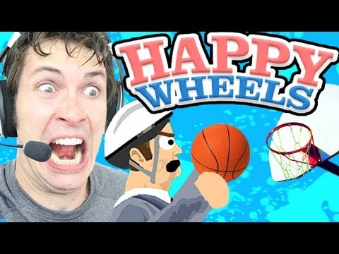 Happy Wheels - FREE THROW CHALLENGE