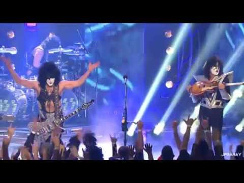 Kiss - Black Diamond - The Tonight Show Starring Jimmy Fallon - 11 04 2014 video