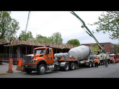 MACK CABOVER BOOM TRUCK - INTERNATIONAL SEMI CEMENT TRUCK