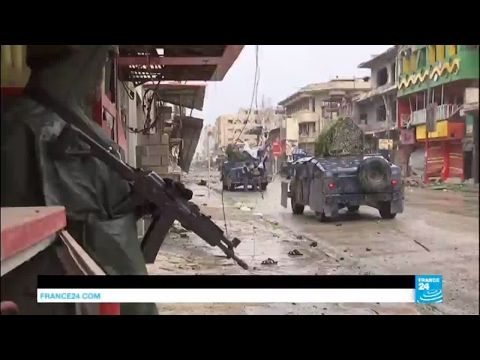 Mosul offensive: Facing snipers, mortars and heavy rain, Iraqi forces gain ground on ISIS fighters