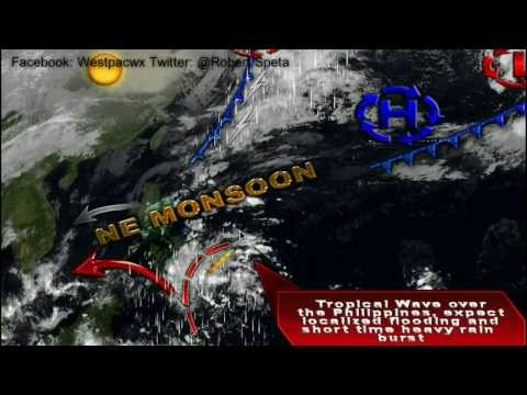 Monday Outlook, Strong Storm Over Japan and Cold Surge