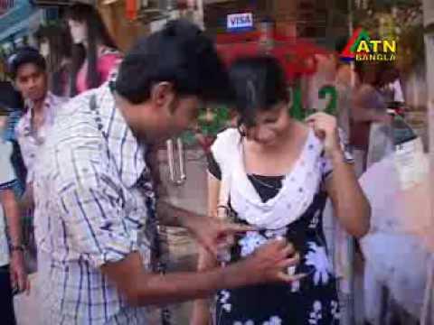 ATN Bangla Eid magic show 2009 in Street magic
