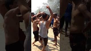 Jalavihar rain dance with friends