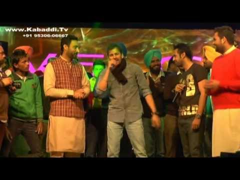Gopi Sarpanch And Veet Baljit At Pohlo Majra Kabaddi Cup 2014 video
