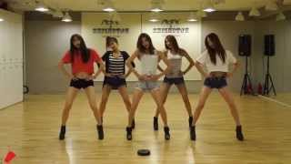 Up & Down' mirrored Dance Practice