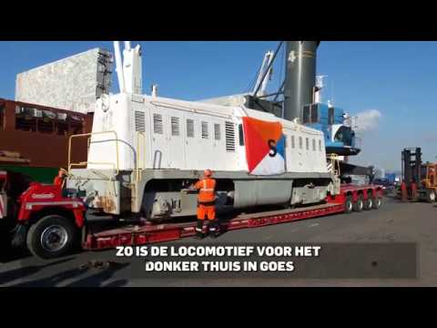 Whitcomb (NS 2000) locomotive to Netherlands Museum PZC coverage