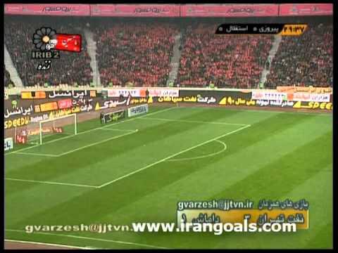 [Hazfi Cup] Perspolis Tehran - Esteghlal Tehran (First Half)