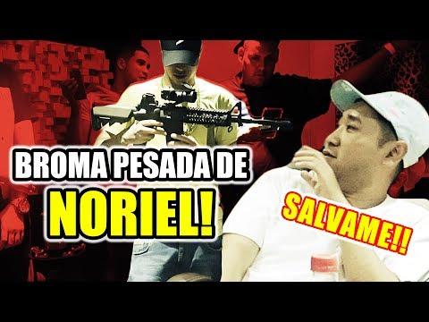0 - Noriel le pone un rifle en la cara a El Coreano Loco (BROMA)