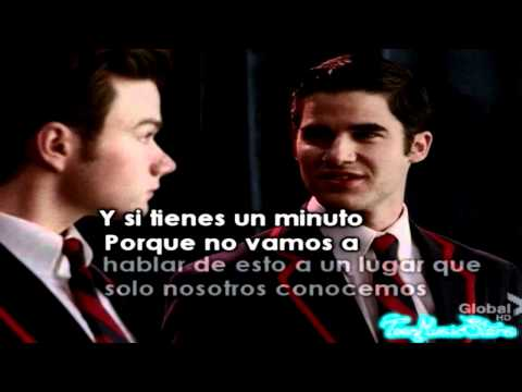 Somewhere Only We Know - Glee - Traduccion en Español