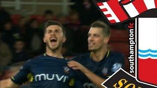 GOALS: Stoke City 2-3 Southampton