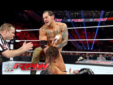 Dolph Ziggler vs. Baron Corbin: Raw, May 9, 2016