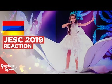 REACTION Karina Ignatyan - Colors Of Your Dream | Armenia Junior Eurovision 2019
