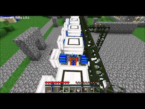 Buildcraft Powerplant Constuction Part 1 Music Videos