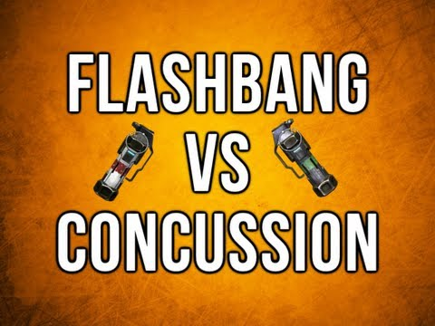 Black Ops 2 In Depth - Flashbang vs. Concussion - Tactical Grenades