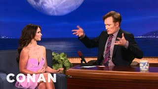 Jennifer Love Hewitt Has A Sparkly Secret In Her Pants - CONAN on TBS